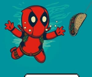 Avengers, DC, and deadpool image