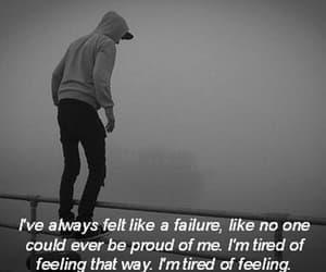 sad, failure, and depressed image