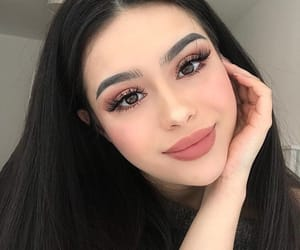 girl, beauty, and makeup image