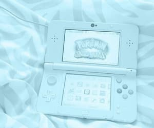 blue, aesthetic, and nintendo image