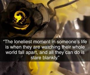 deep, quote, and sad image