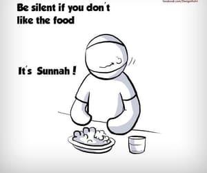 islam, food, and sunnah image
