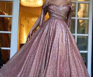 Couture, glitters, and dress image