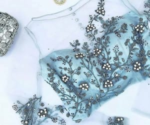 details, fashion, and light blue image
