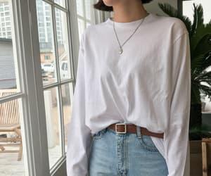 asian fashion, clothes, and minimalism image