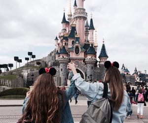 disneyland, paris, and friends image