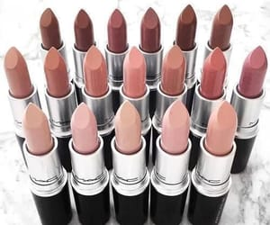 makeup, lipstick, and style image