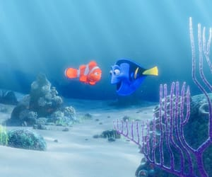 dory, marlin, and finding nemo image