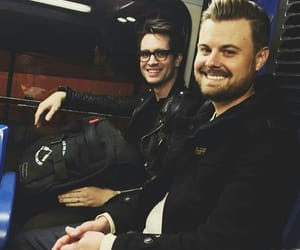 brendon urie, panic! at the disco, and spencer smith image