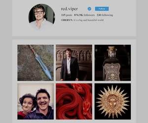 lover, intagram, and house martell image