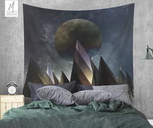 etsy, home decor, and moon image