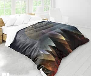 bedroom decor, duvet cover, and etsy image