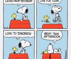 snoopy, funny, and peanuts image
