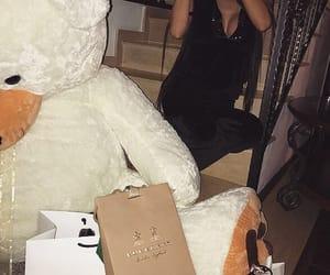 bear, rich girl, and boyfriend image