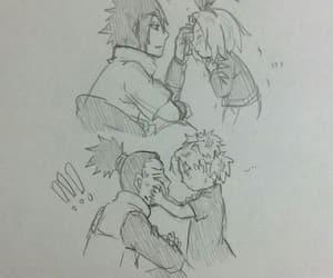anime, couples, and hinata image