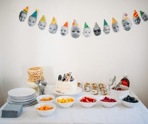 babies, brithday, and brunch image