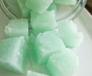 mint, green, and sugar image