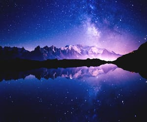 galaxy, nature, and stars image