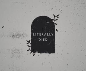 aesthetic, dead, and quote image