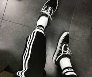 girl, shoes, and vans image