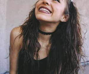 girl, beauty, and smile image