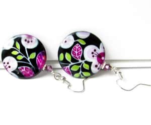 etsy, easter gift, and round earrings image