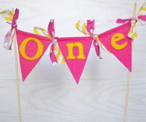 cake topper, you are my sunshine, and cake bunting image