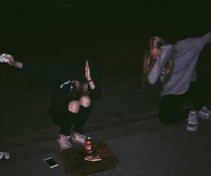 boy, coca cola, and girl image