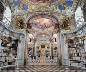 library, architecture, and book image