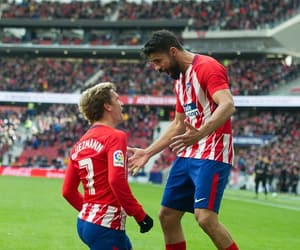 atletico madrid, griezmann, and diego costa image
