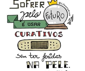 cotidiano, ansiedade, and frases image
