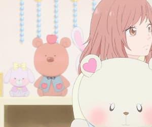 ao haru ride, anime, and kawaii image