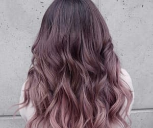 hair, beauty, and color image