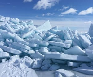 ice, nice, and sky image
