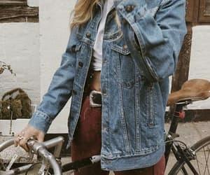 fashion, style, and denim image