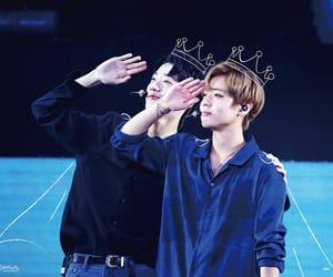 jihoon, wanna one, and guanlin image