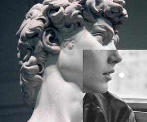 art, statue, and timothee chalamet image