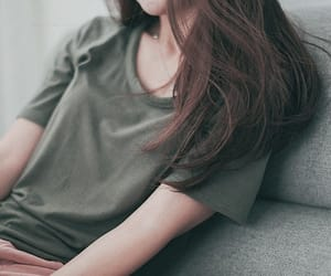 girl, cute, and simple image