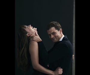 fifty shades, christian grey, and fifty shades freed image