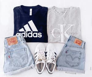 adidas, Calvin Klein, and clothes image