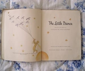 book, the little prince, and stars image