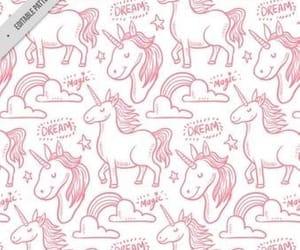 pink, unicorn, and cute image