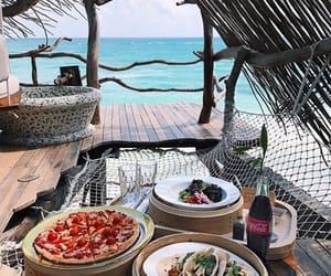 paradise, tacos, and pizza image
