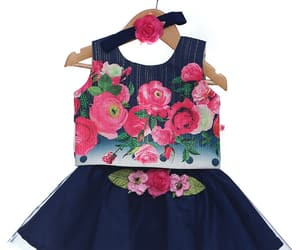 baby clothes, dress, and fashion image