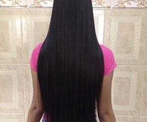 black, blackhair, and girl image