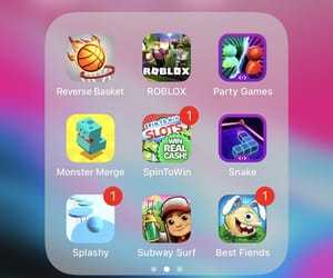 games, iphone, and subway image