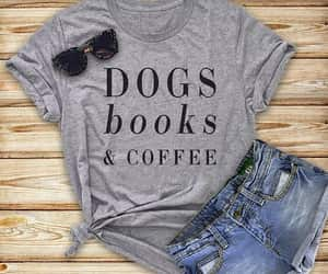 book, coffee, and funny image
