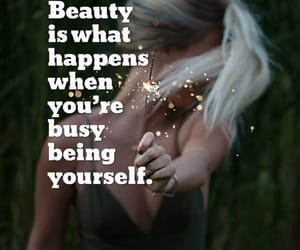 beauty, hair, and inner beauty image