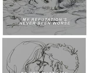 delicate, Lyrics, and Reputation image
