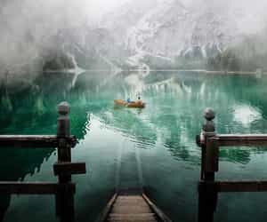 italy, lake, and nature image